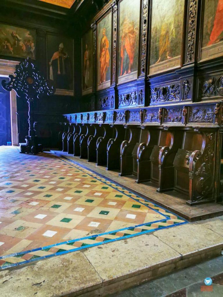 Coro-Alto no Mosteiro dos Jerónimos, em Lisboa