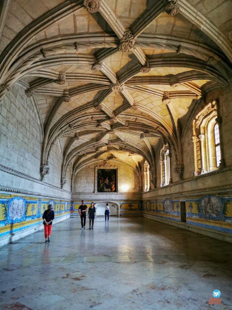 Antigo Refeitório no Mosteiros dos Jerónimos, em Lisboa