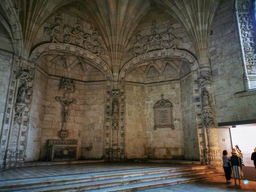 Sala do Capítulo no Mosteiro dos Jerónimos, em Lisboa