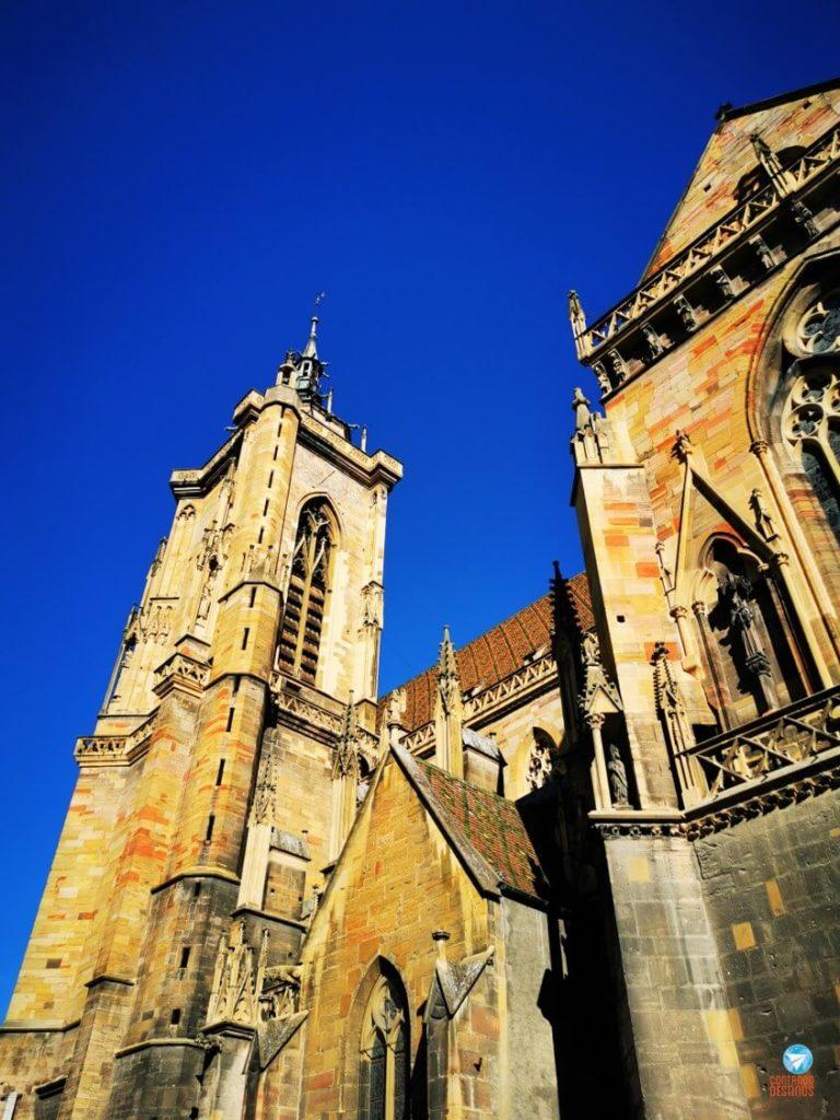 Catedral de Colmar, na França