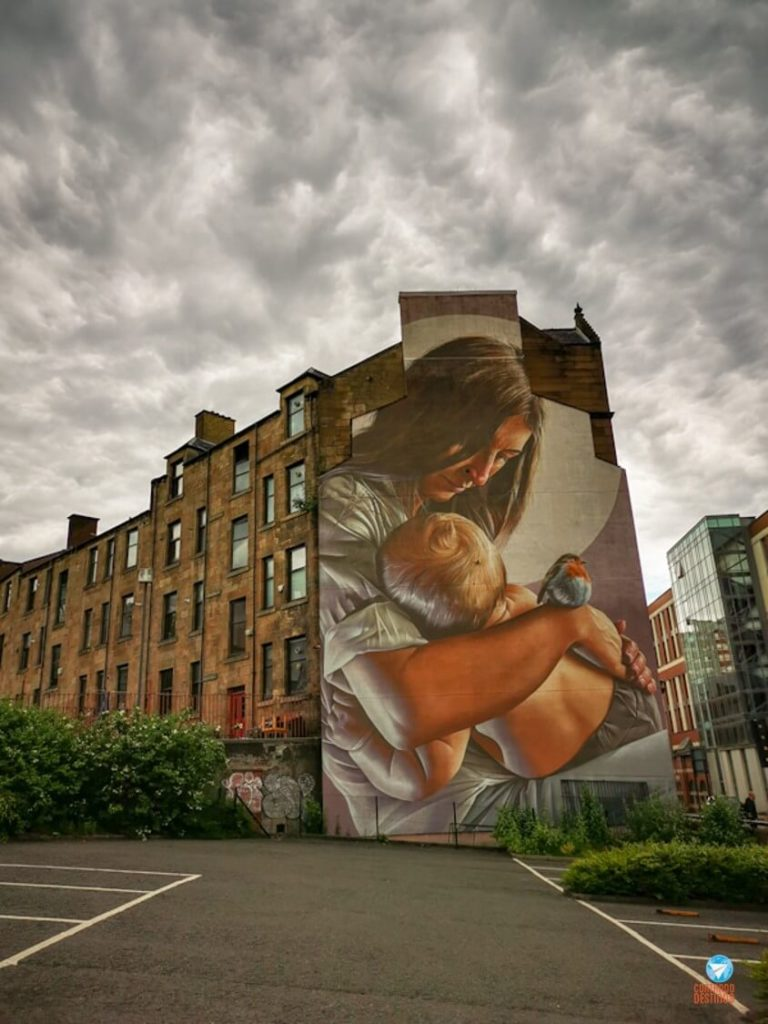 St. Enoch - Grafites de Glasgow, Escócia