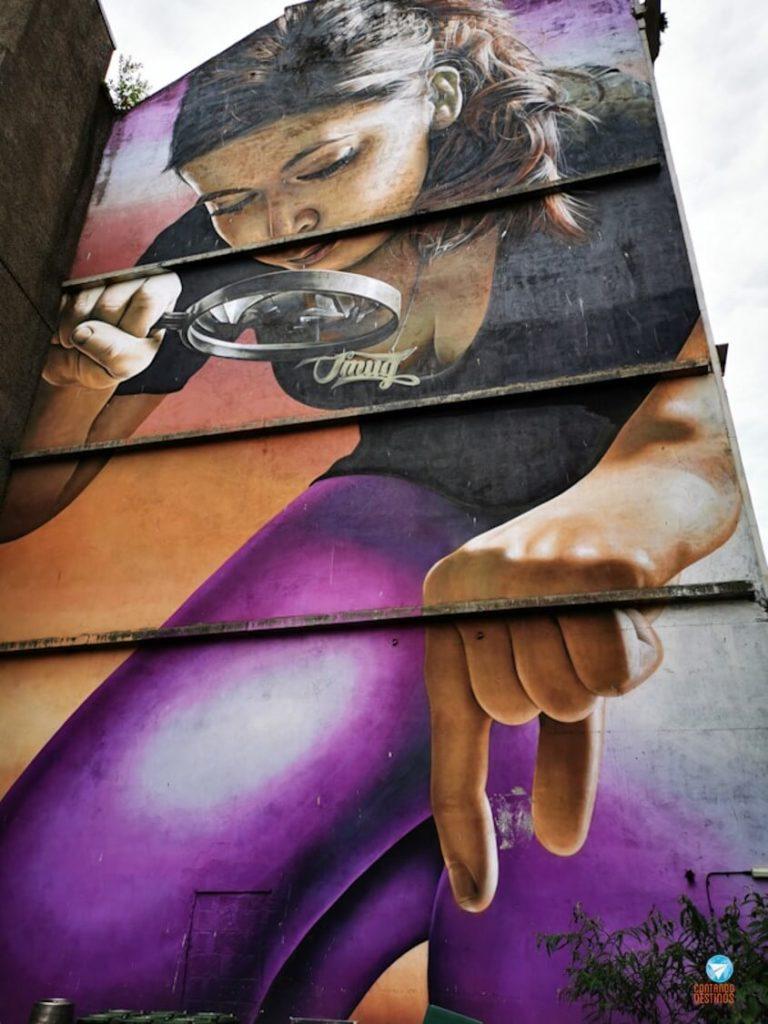 Querida...eu encolhi as crianças - Grafites de Glasgow, Escócia