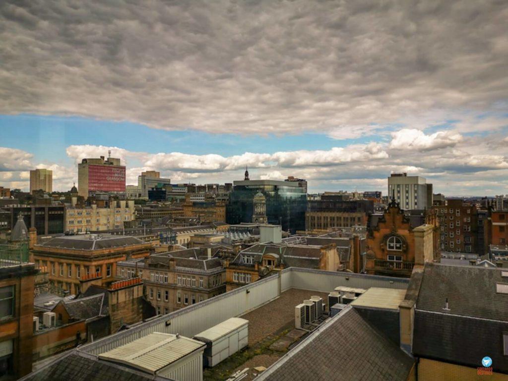 vista do The Lighthouse em Glasgow, na Escócia