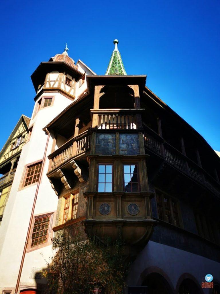 Pfister House em Colmar, França