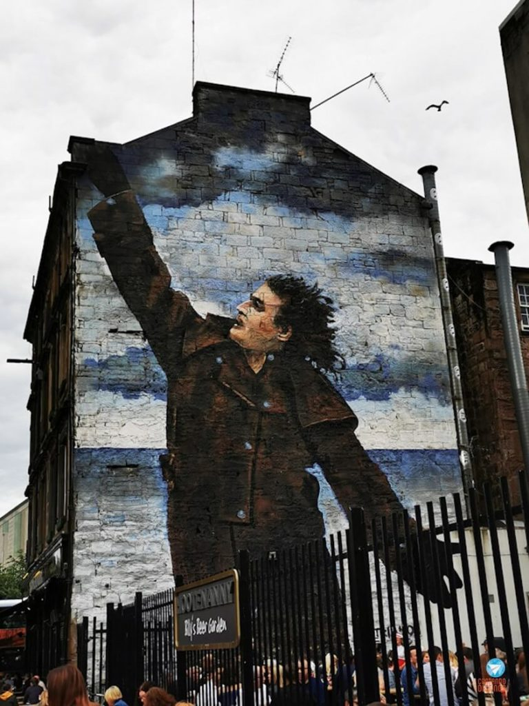 Dr Connolly I Presume - Grafites de Glasgow, Escócia