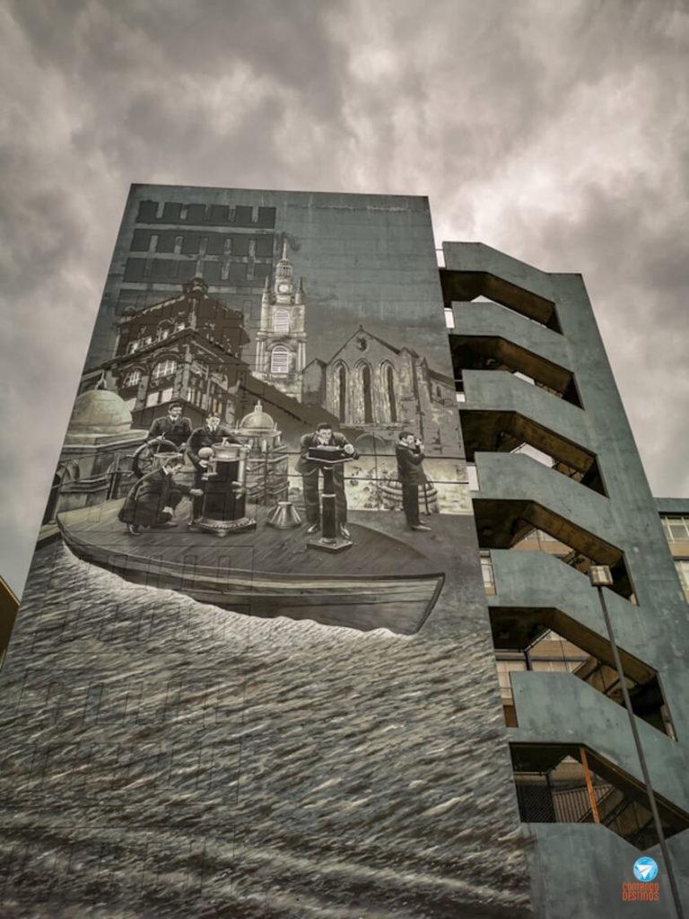 Universidade - Grafites de Glasgow, Escócia