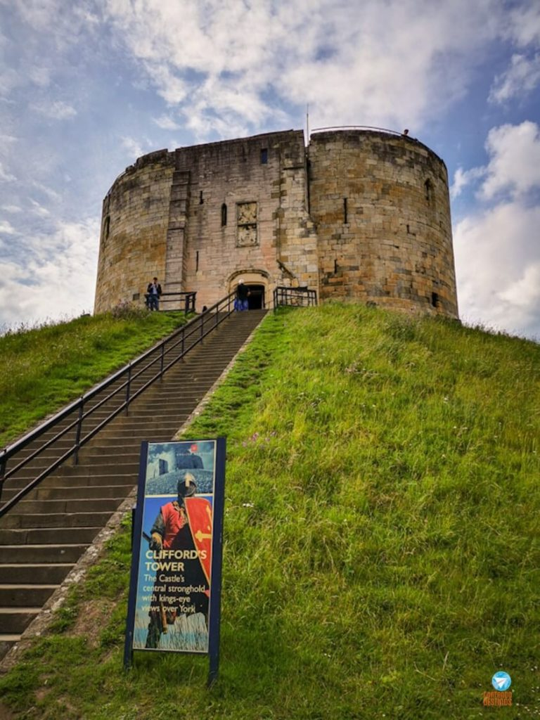Cliffords Tower York, Inglaterra