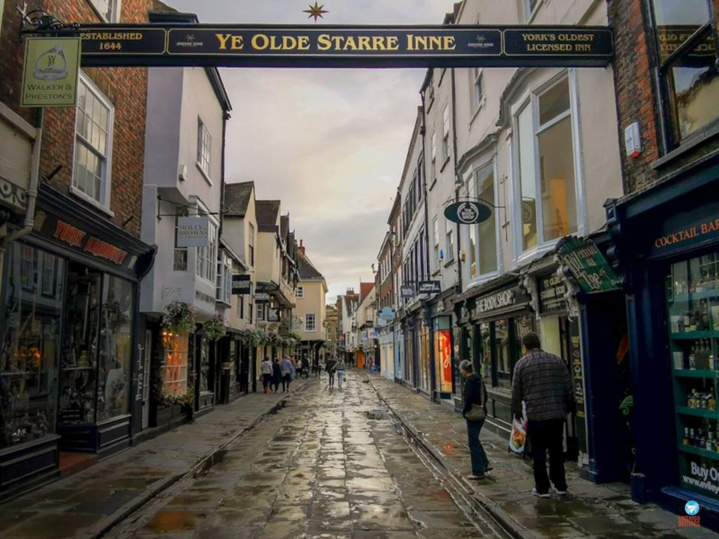 Ye Olde Starre Inne em York, Inglaterra