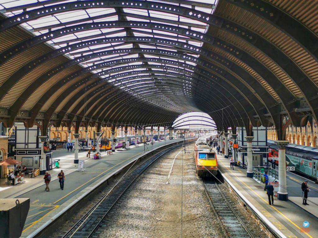 Estação de trem de York, Inglaterra