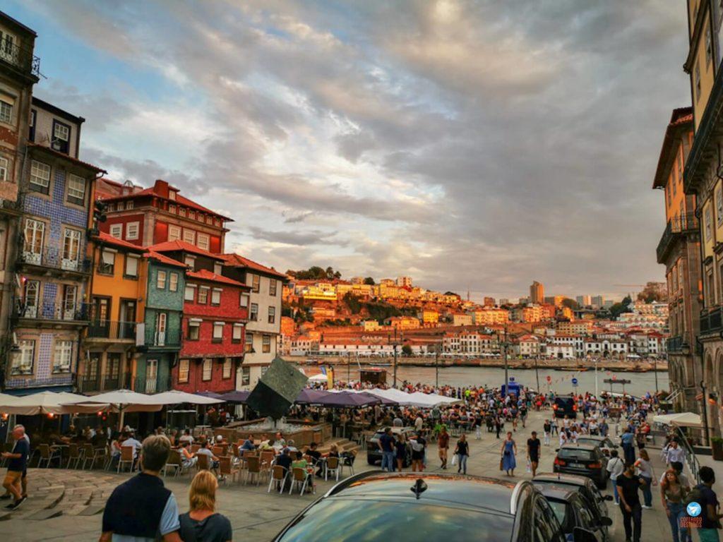 Ribeira no Porto Portugal