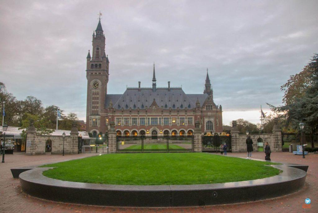 Palácio da Paz em Haia, Holanda