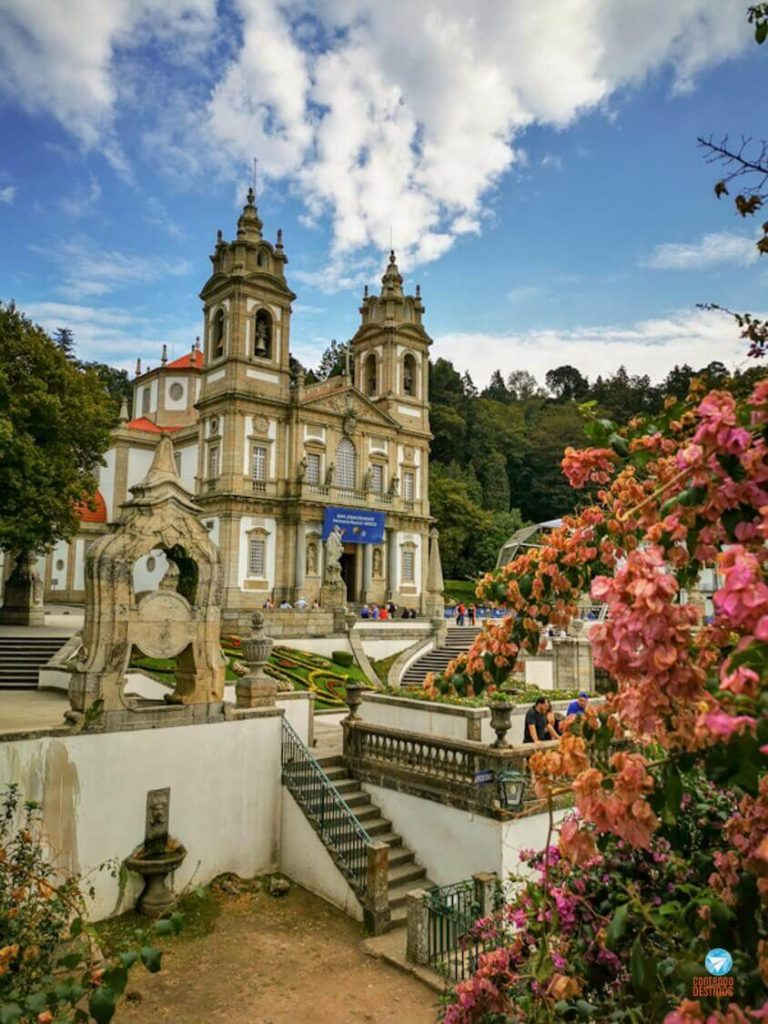 Santuário do Bom Jesus do Monte em Braga, Portugal