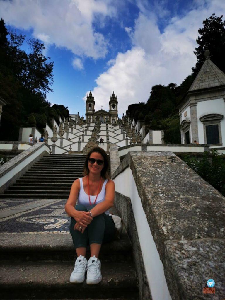 Escadaria do Santuário do Bom Jesus do Monte em Braga