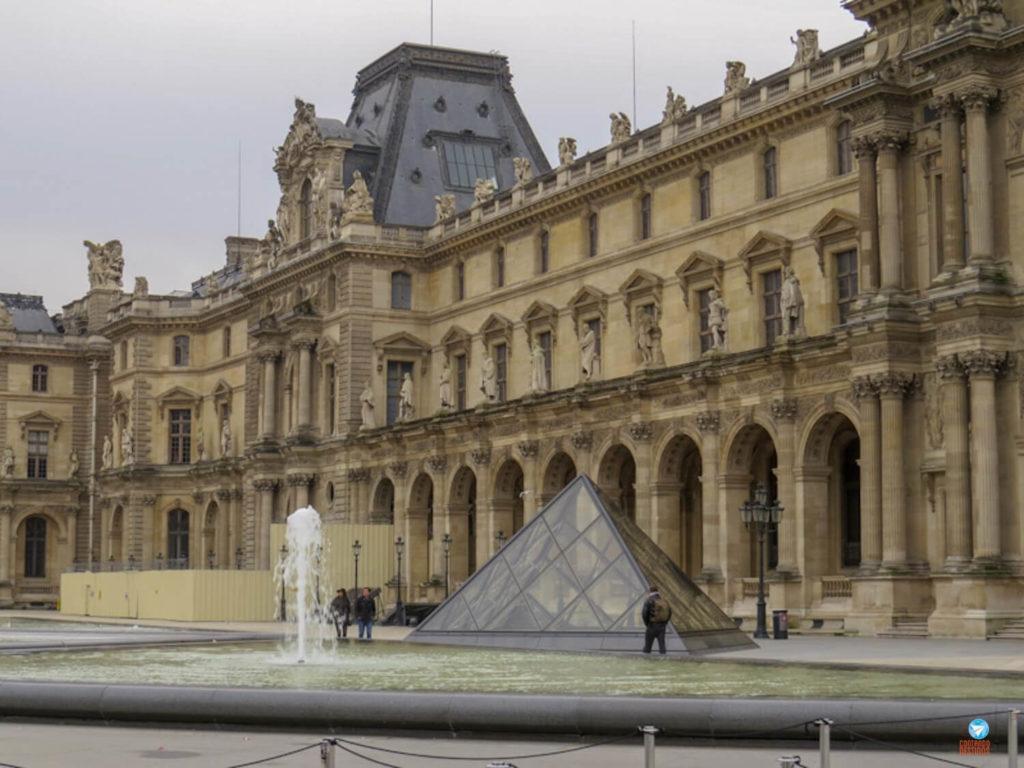 museus para visitar sem sair de casa - Museu do Louvre Paris