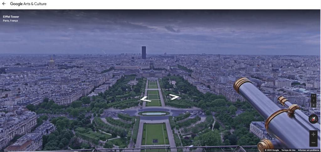 Champ de Mars em Paris