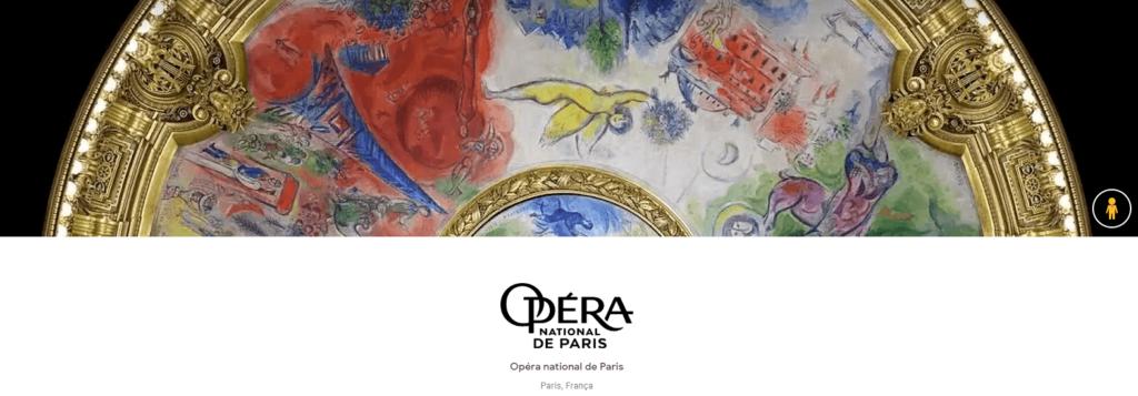 Ópera de Paris, na França