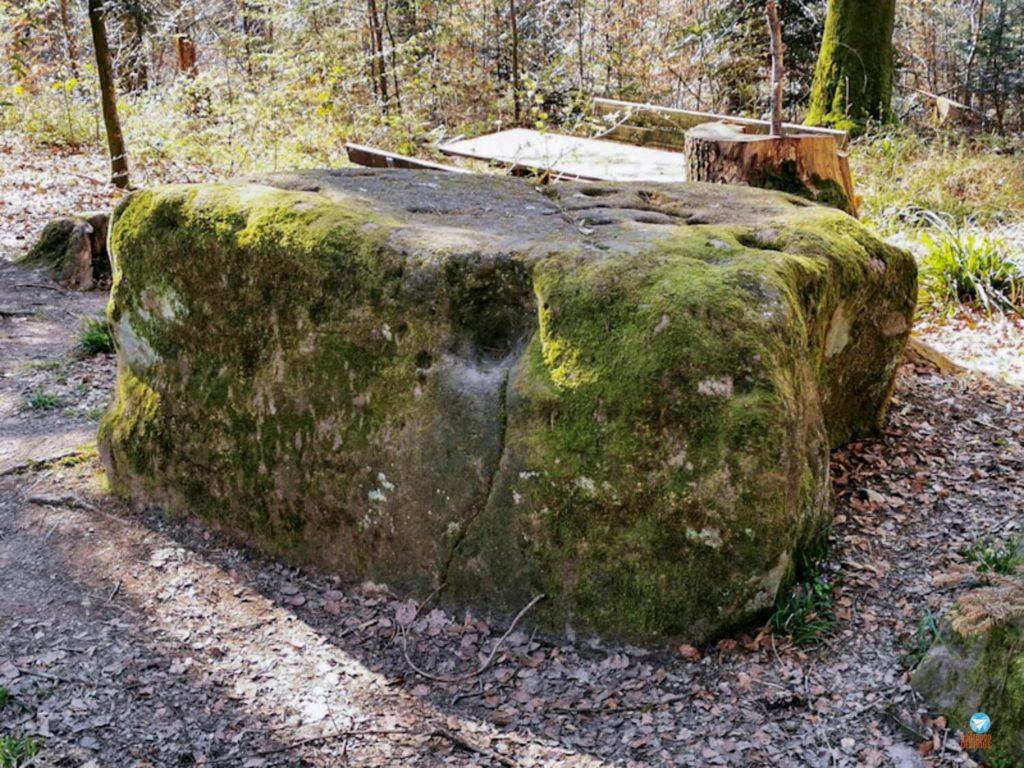 Teufelstein - pedra do diabo na rota idílica