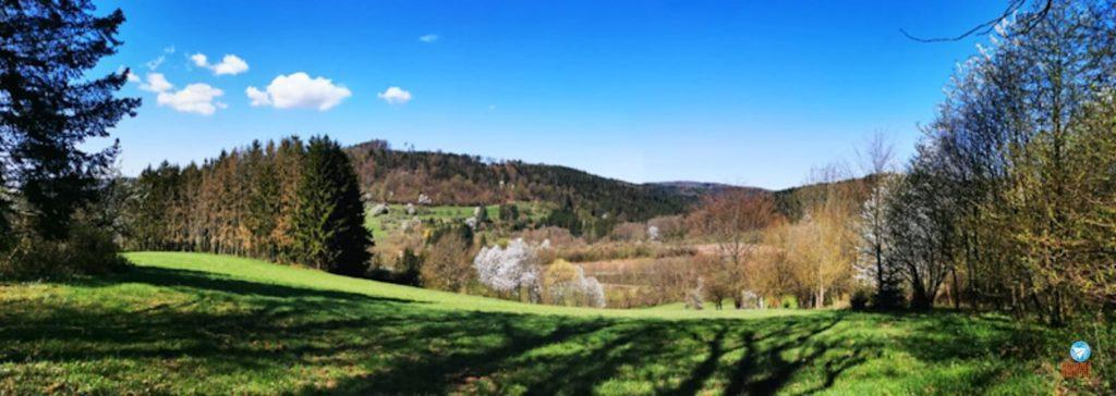 paisagem do sul da Alemanha