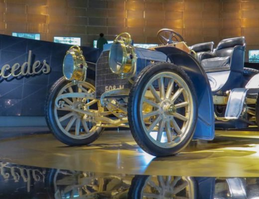 Visita virtual museu mercedes benz