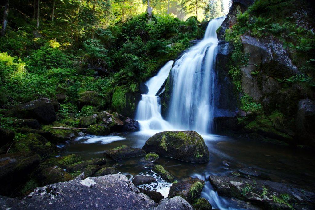 Cachoeira em Triberg, Floresta Negra