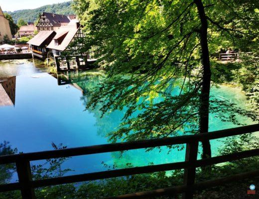 Lago Blautopf, sul da Alemanha