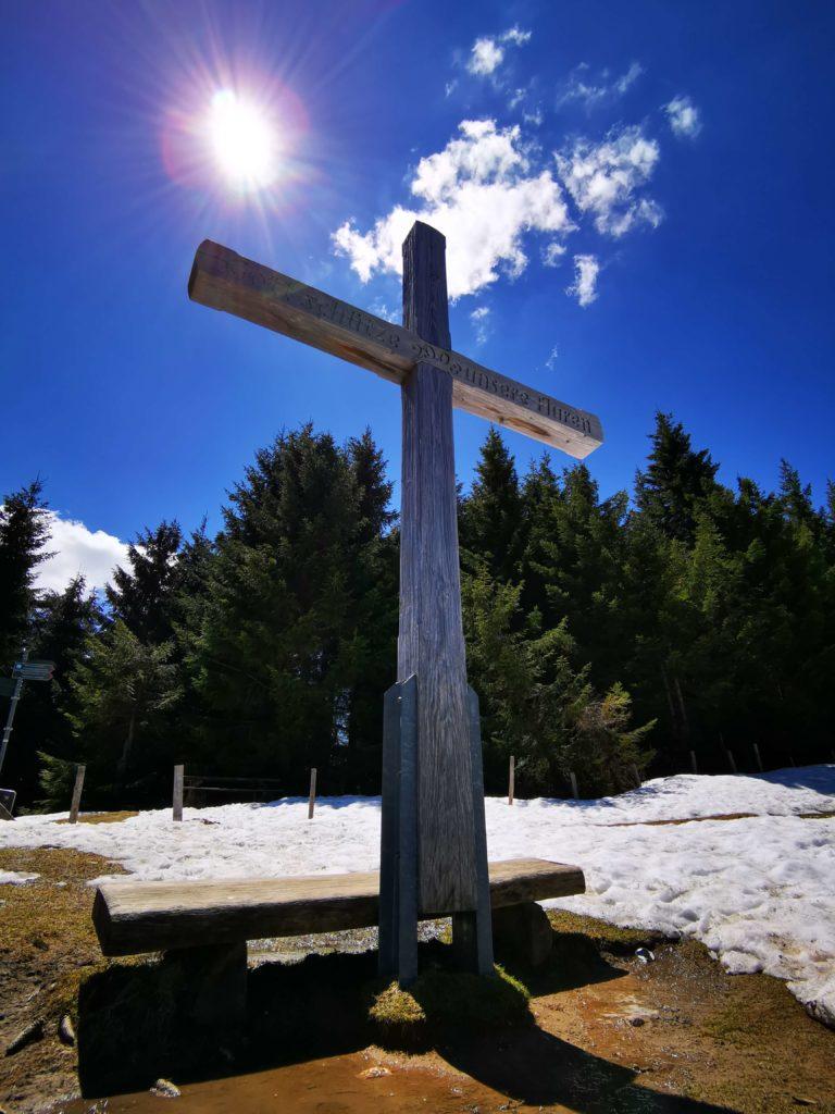 Gipfelkreuz Eckhalde - Allgäu