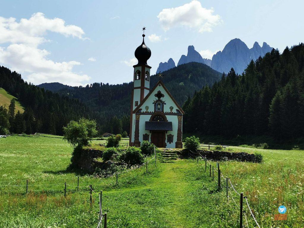 roteiro pelas Dolomitas, Itália - Chiesetta di San Giovanni in Ranui