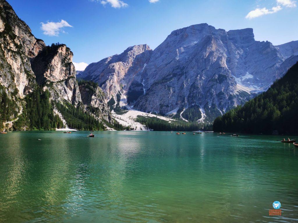 Lago di Braies - roteiro pelas Dolomitas, Itália