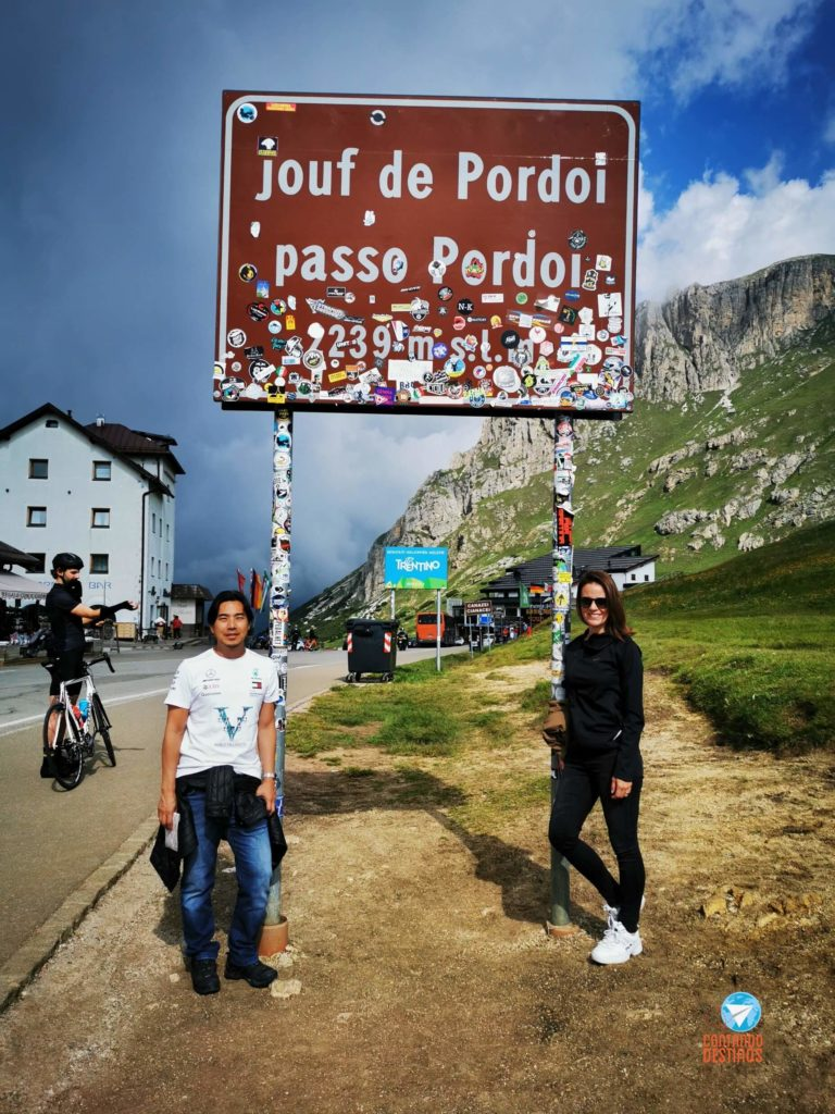 Pordoi Pass, Italy