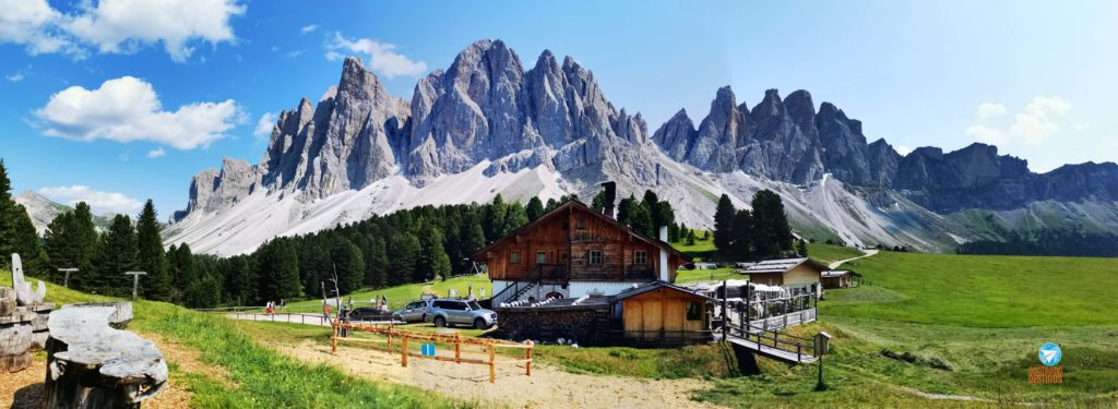 roteiro pelas Dolomitas, Itália - Rifugio delle Odle