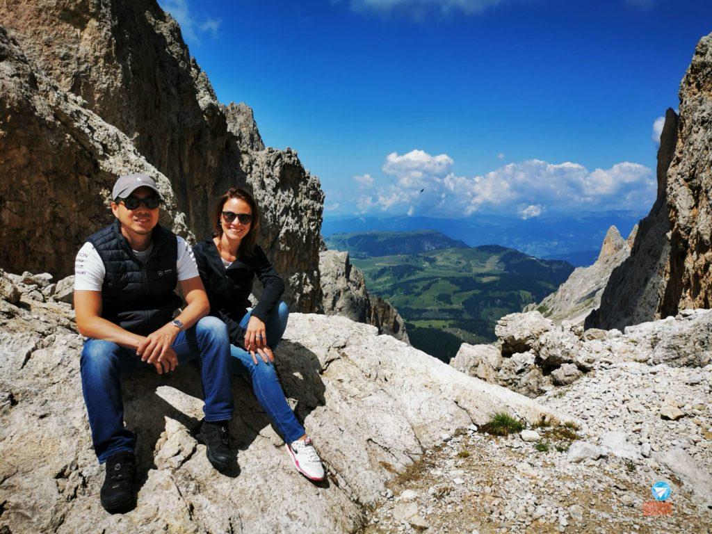 Sassolungo - roteiro pelas Dolomitas, Itália