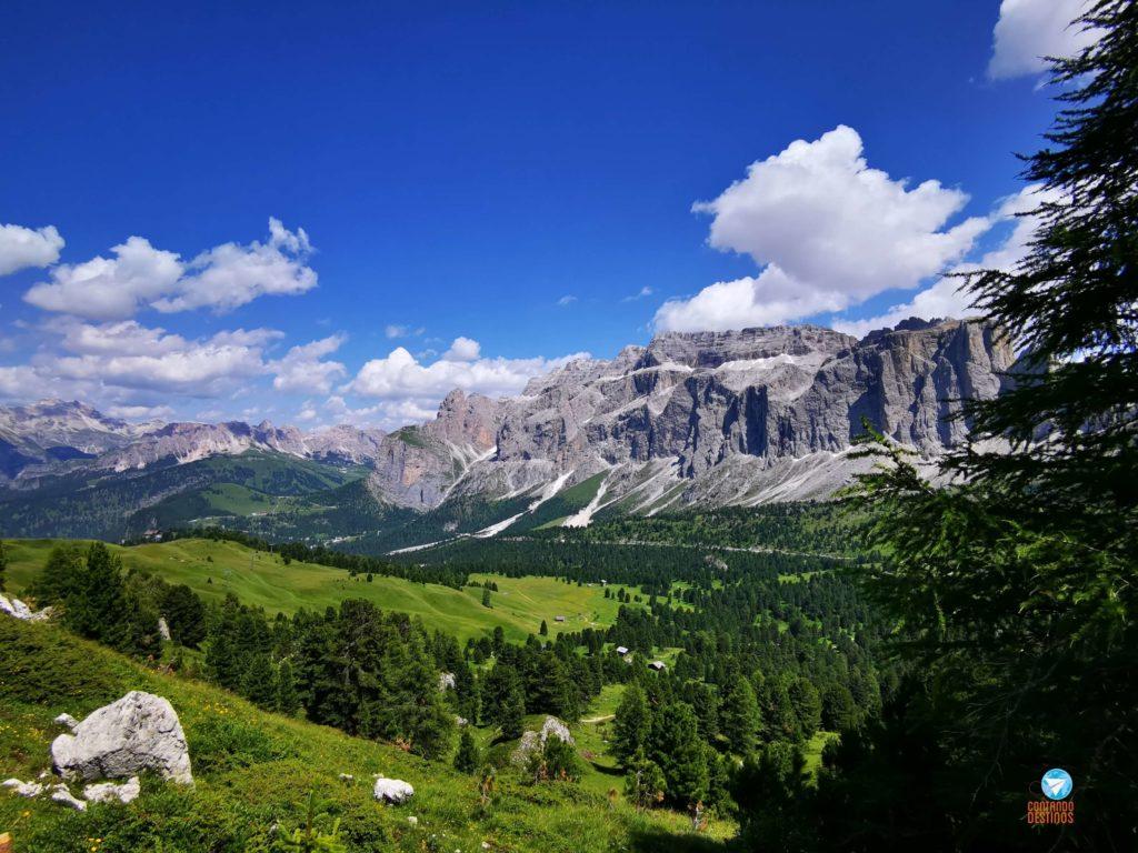 Paisagem Dolomitas - Italia