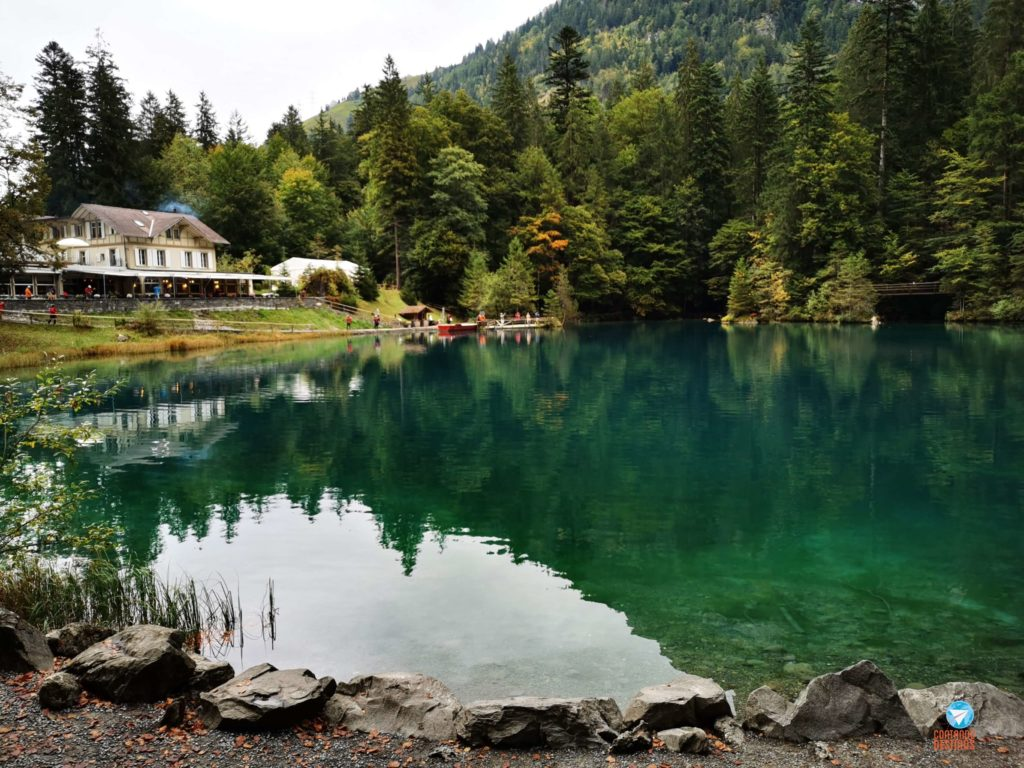 Blausee na Suíça